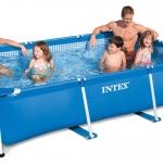 สระว่ายน้ำสำเร็จรูป สี่เหลี่ยม Intex 3m x 2m x 0.75m INTEX