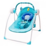 เปลไฟฟ้า Primi รุ่น Little swing 2 (อุปกรณ์ครบ) สีฟ้า