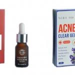 Acne Clear Gel + Astaxanthin Whitening SerumIssue