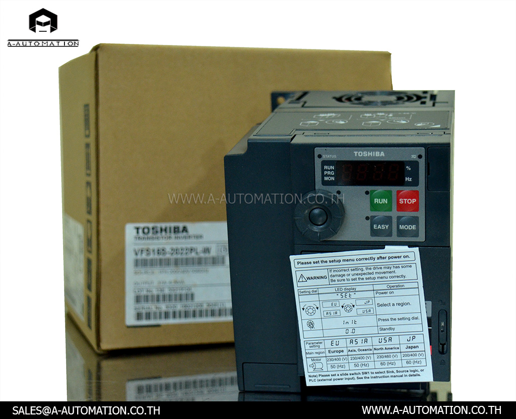 Inverter Toshiba Model:VFS15S-2022PL-W