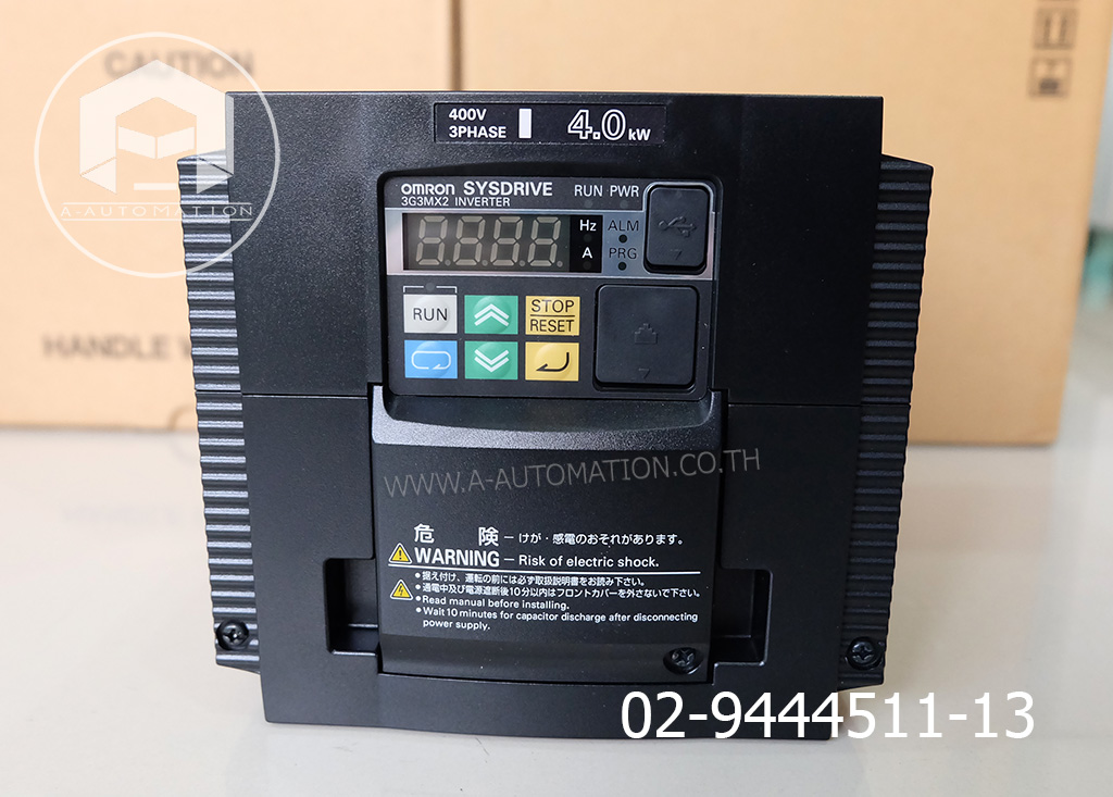 Inverter Omron Model:3G3MX2-A4040 (สินค้าใหม่)