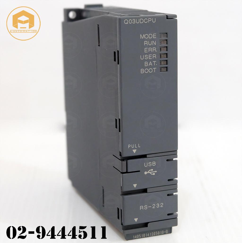 ขายPlc Mitsubishi Model:Q03UDCPU (สินค้าใหม่ไม่มีกล่อง)