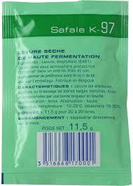 Safale/ Fermentis K-97 (Ale) 11.5 g.
