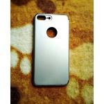 PC ประกบหัวท้ายโครเมี่ยม iphone7 plus/iphone8 plus(ใช้เคสตัวเดียวกัน) สีเงิน