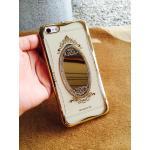 TPU Princess(มีกระจก) iphone6/6s สีทอง