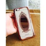 TPU Princess(มีกระจก) iphone5/5s/se สี Rose Gold