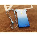 TPU หูหนูทูโทนวิ้งๆ 2in1 Oppo R7 plus สีฟ้า