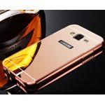 BP.อลูมิเนียมหลังสไลด์ Mirror (NEW) J7/J7core(ใช้เคสตัวเดียวกัน)สี Pink Gold