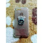 TPU กากเพชร (มีเเหวนตั้งได้) iphone7 plus /iphone8 plus(ใช้เคสตัวเดียวกัน)สีทอง