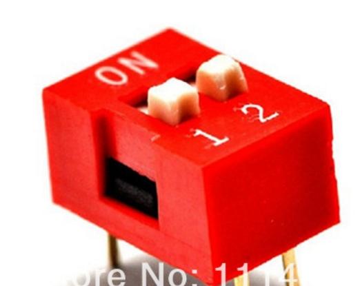 2P DIP switch