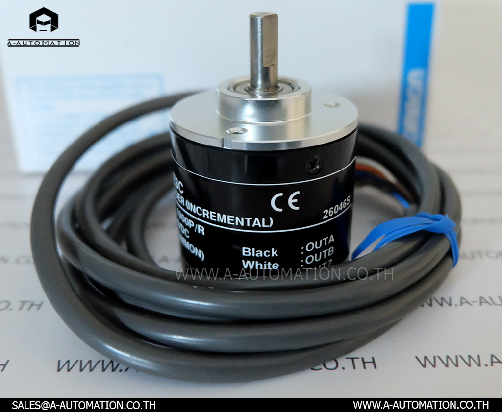 Rotary Encoder Omron Model:E6B2-CWZ6C,600P/R (สินค้าใหม่)