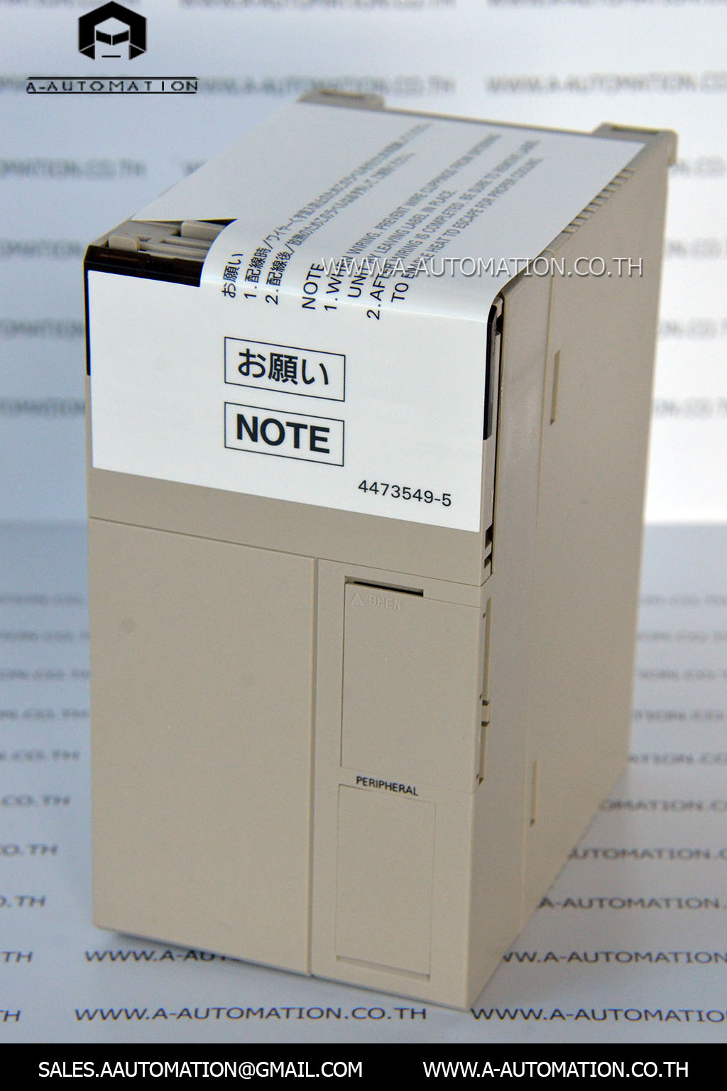 PLC MODEL:C200HE-CPU32-E [OMRON]