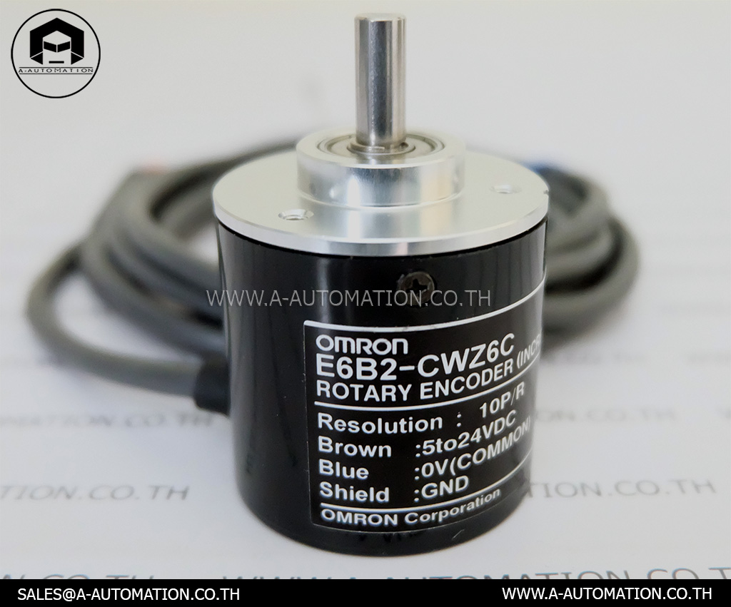 Rotary Encoder Omron Model:E6B2-CWZ6C (สินค้าใหม่)