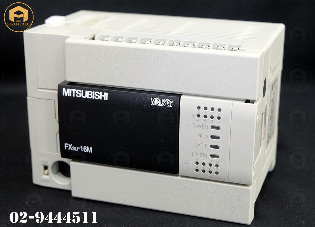ขายPlc Plc Mitsubishi Model:FX3U-16MR/ES-A (สินค้าใหม่)