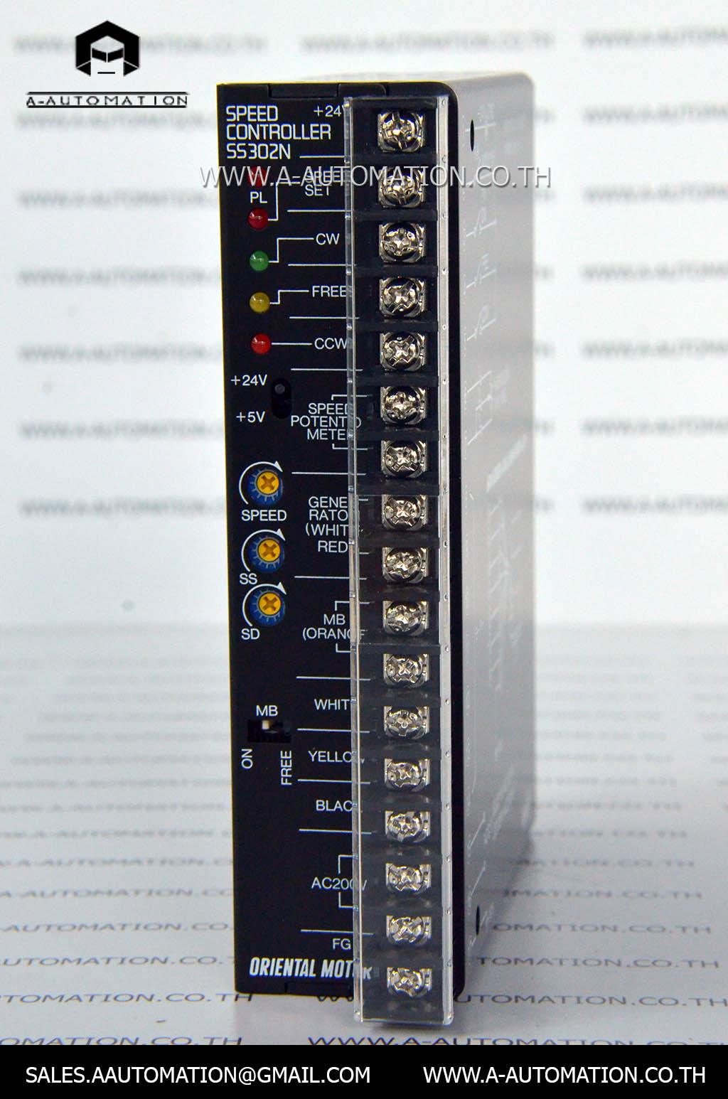 SPEED CONTROLLER MODEL:SS302N [ORIENTAL MOTOR]