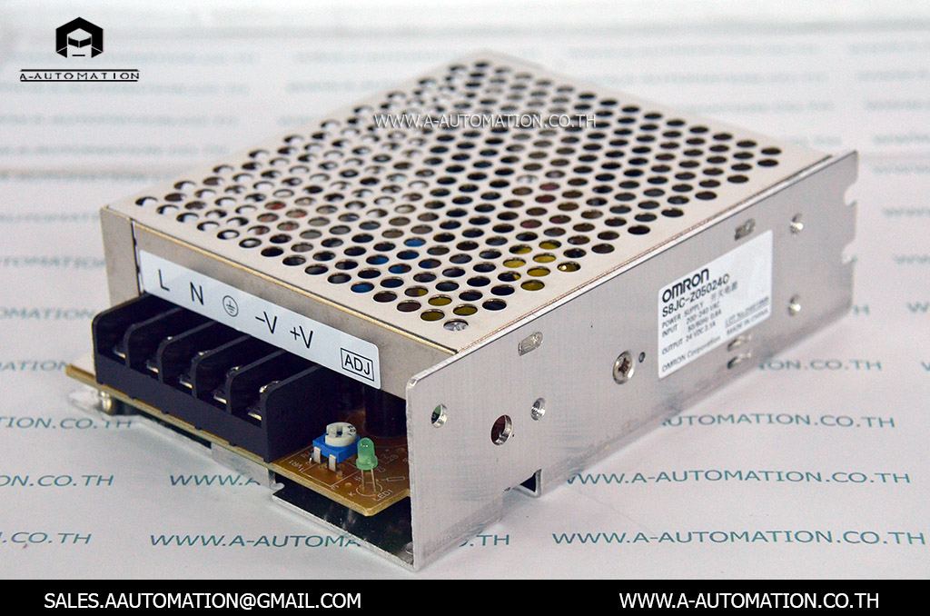 POWER SUPPLY MODEL:S8JC-Z05024C [OMRON]