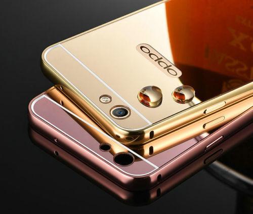 BP.อลูมิเนียมหลังสไลด์ Mirror Oppo R9S plus/R9S Pro(ใช้เคสตัวเดียวกัน)