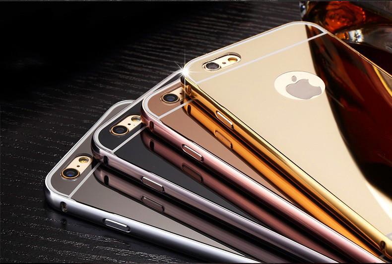 BP.อลูมิเนียมหลังสไลด์ Mirror iphone7 plus/iphone8 plus(ใช้เคสตัวเดียวกัน)