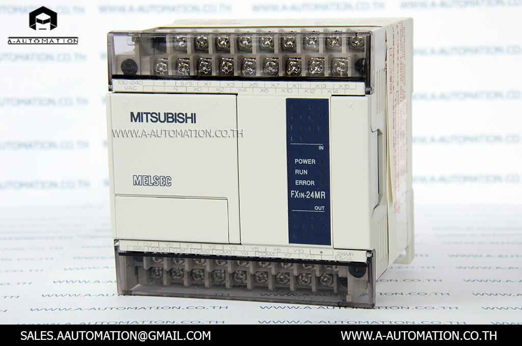 PLC MODEL:FX1N-24MR-ES/UL [MITSUBISHI]