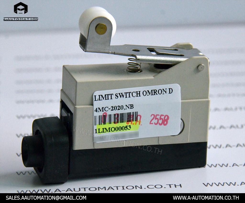 LIMIT SWITCH MODEL:4MC-2020,NB [OMRON]