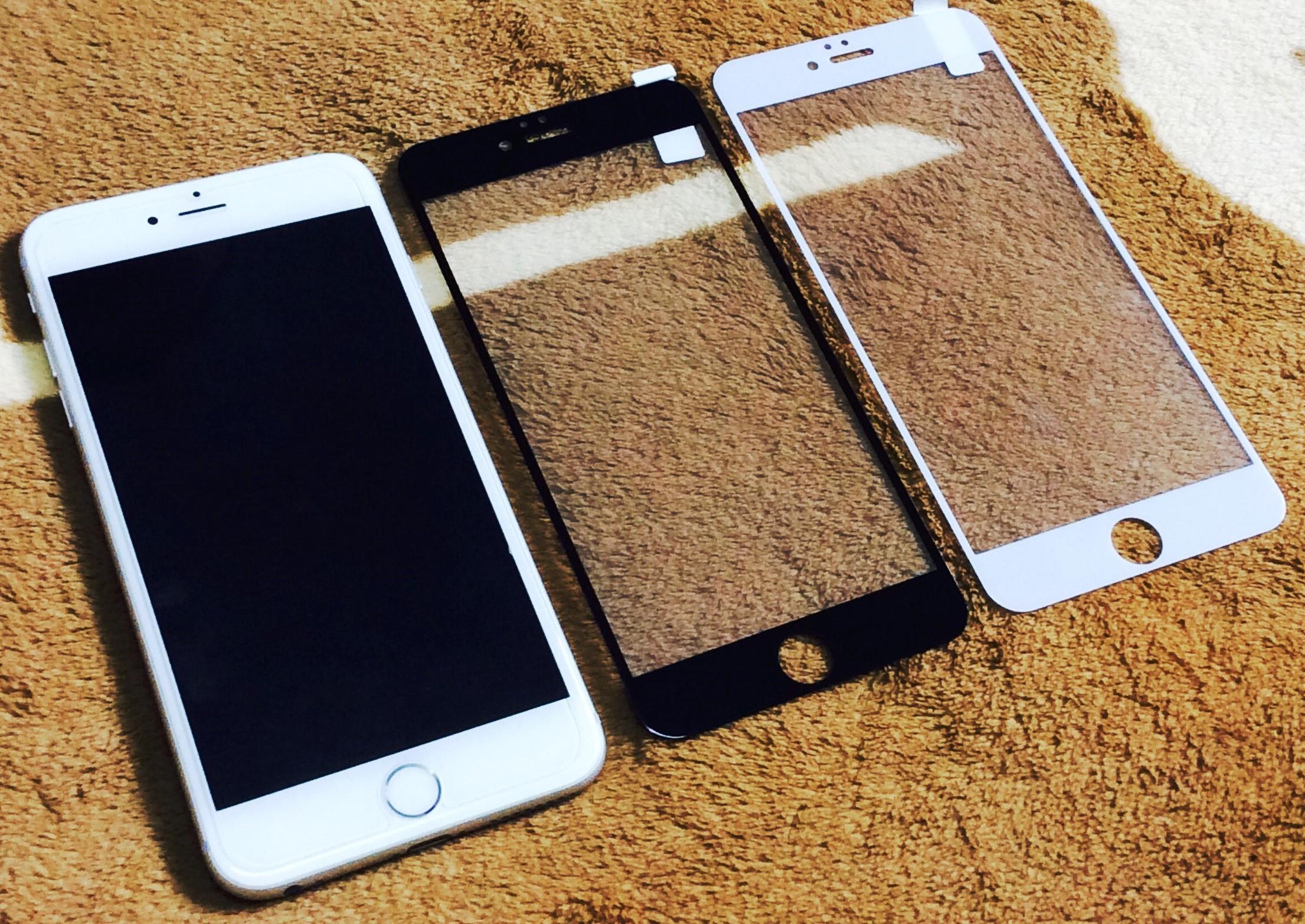 ฟิล์มกระจกเต็มจอ iphone6 plus/6s plus 0.26mm (เฉพาะด้านหน้า)