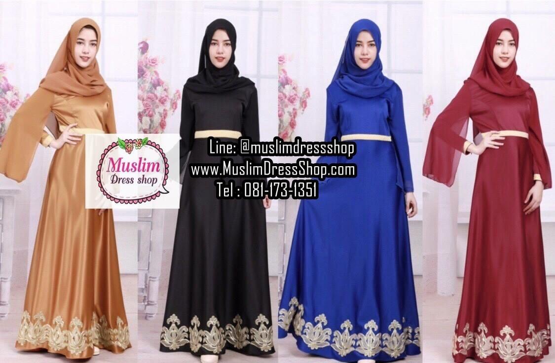 เดรสมุสลิมสวย ๆ เสื้อผ้าแฟชั่นมุสลิม ราคาน่ารัก สบายๆ ^_^