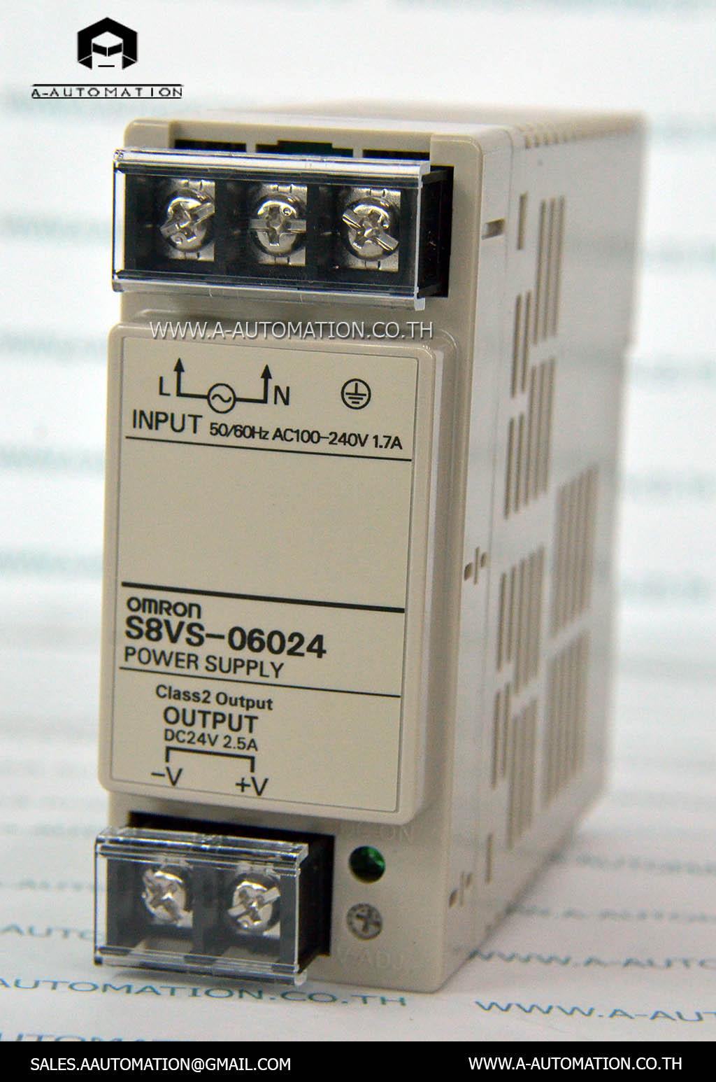 POWER SUPPLY MODEL:S8VS-06024 [OMRON]