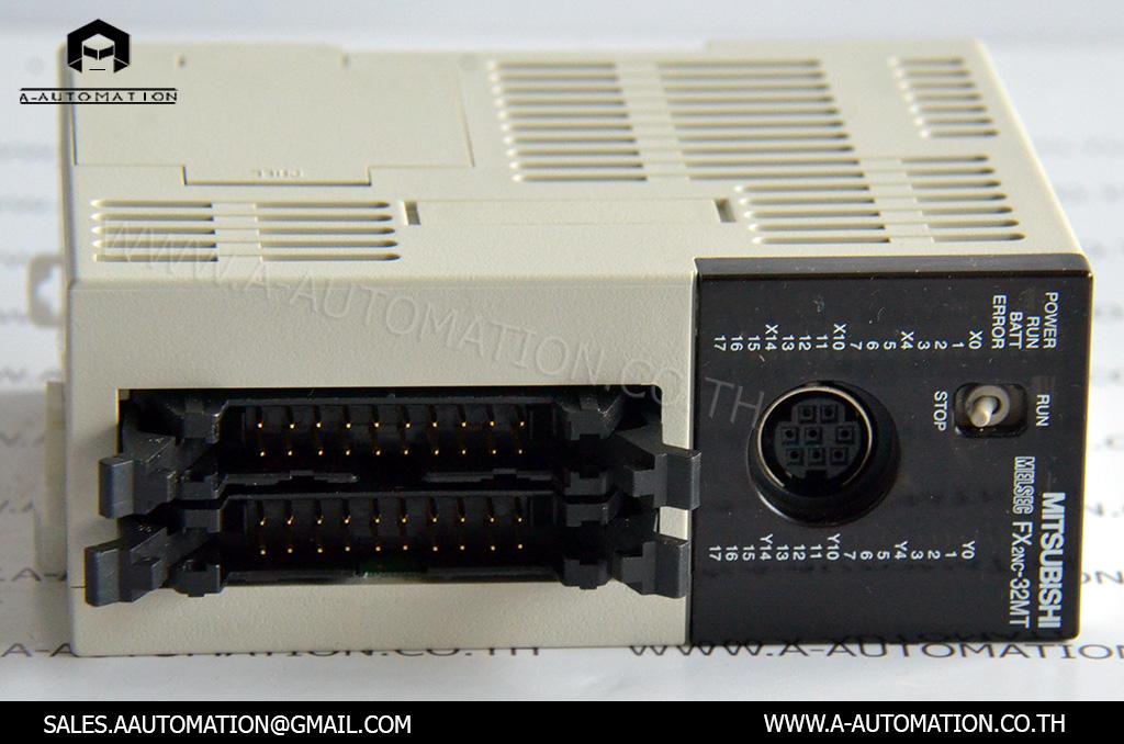 PLC MODEL:FX2NC-32MT [MITSUBISHI]