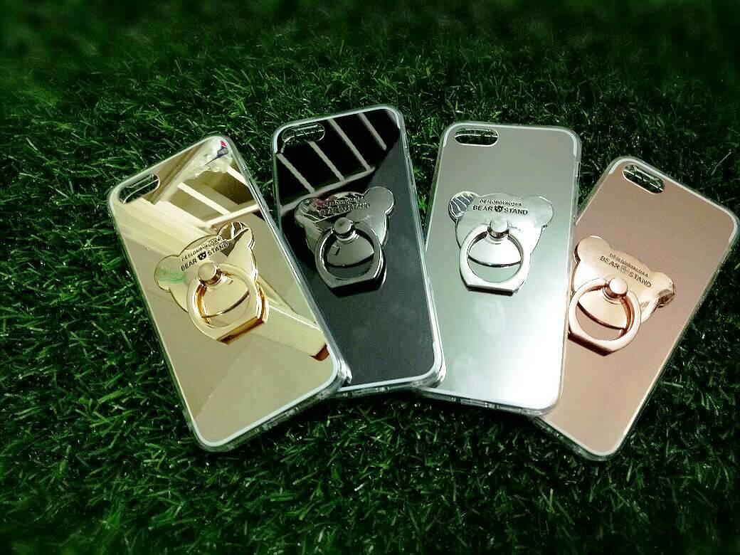 TPU โครเมี่ยมพร้อมแหวน iphone5/5s/se