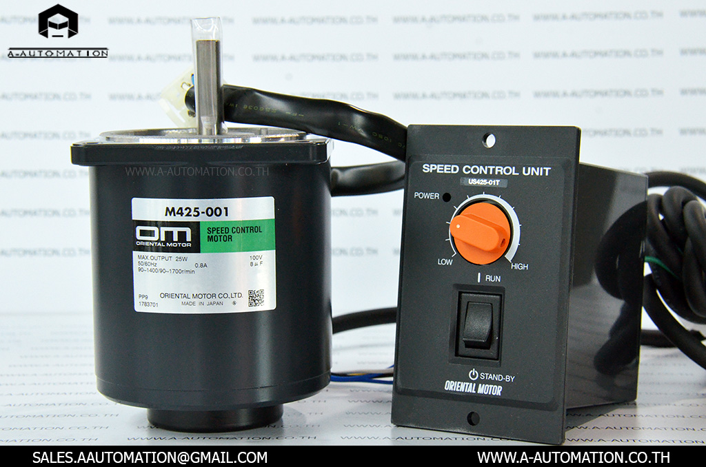 SPEED CONTROL+ MOTOR MODEL:US425-001 [ORIENTAL MOTOR]