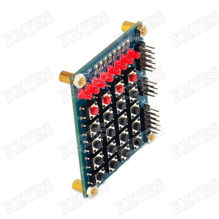 Arduino keys matrix keyboard module Marquee Module