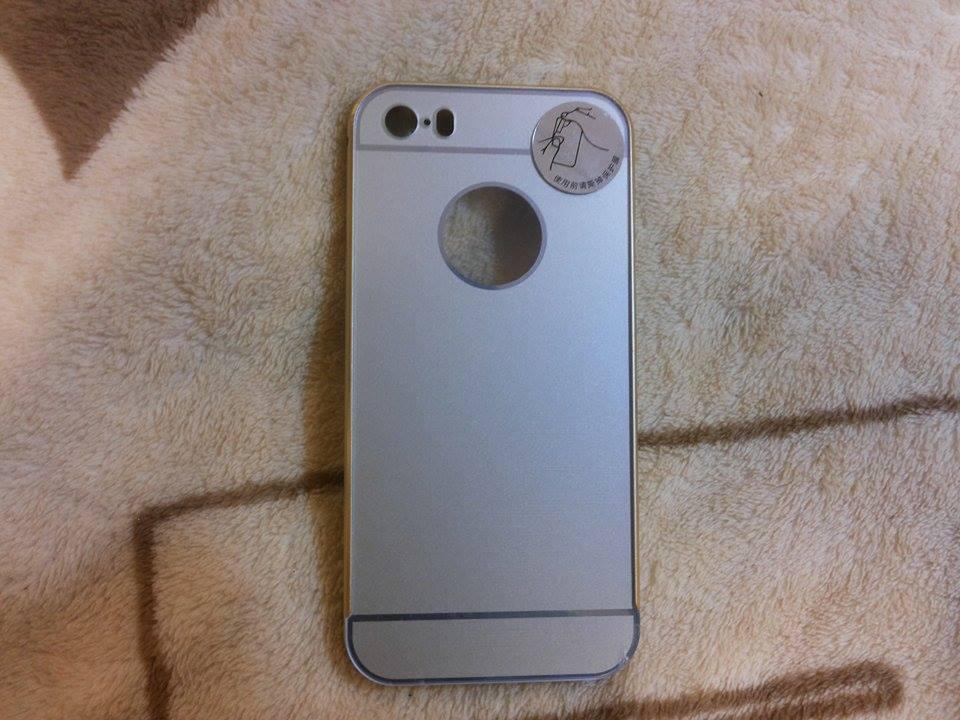 Bumper หลังอลูมิเนียม หลังสไลด์ iphone6/6s