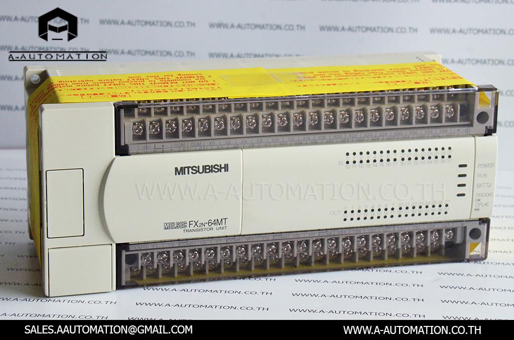 PLC MODEL:FX2N-64MT [MITSUBISHI]