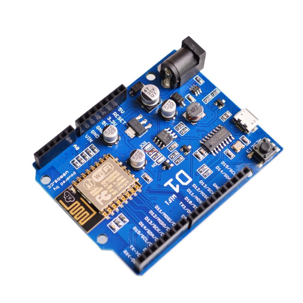 ESP-12E WeMos D1 WiFi + Micro USB