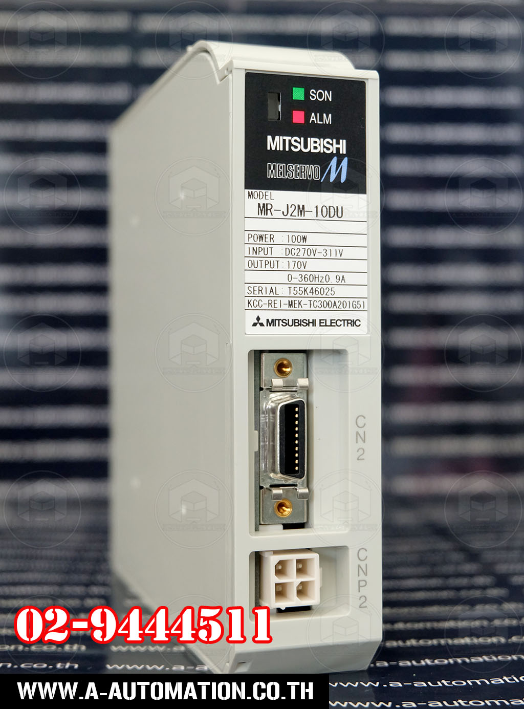 Servo mitsubishi Model:MR-J2M-10DU (สินค้าใหม่)
