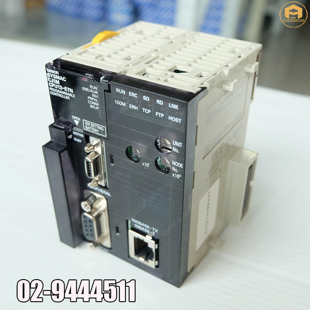 ขาย PLC OMRON รุ่นขาย PLC OMRON รุ่น CJ1N-CPU13-ETN