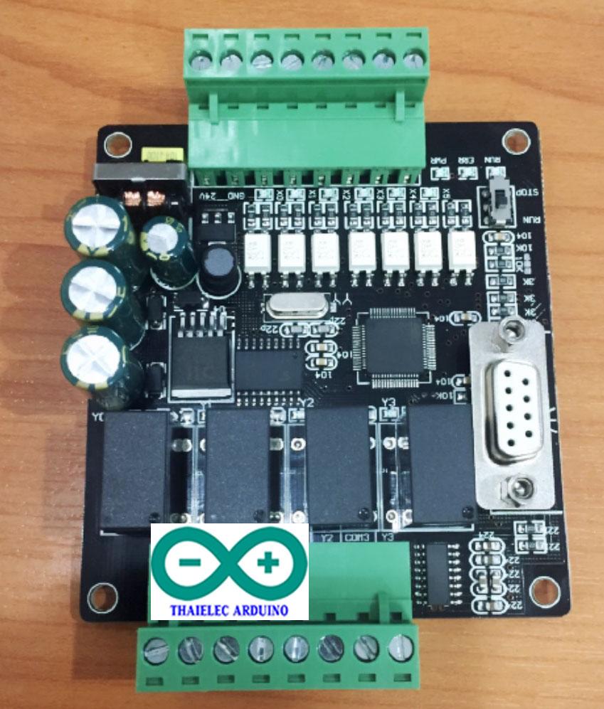 บอร์ด PLC CFX1N-10MR 6IN/4OUT