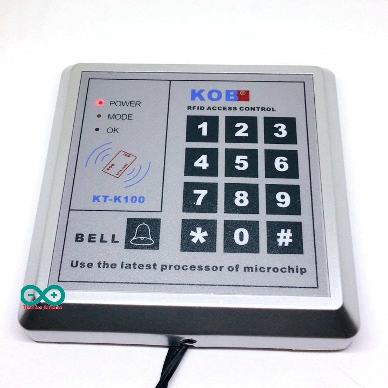 เครื่องทาบบัตร KOB-K100