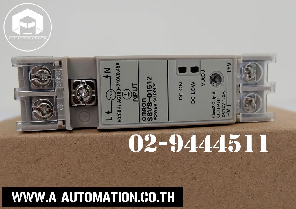 Power Supply Omron Model:S8VS-01512 (สินค้าใหม่)