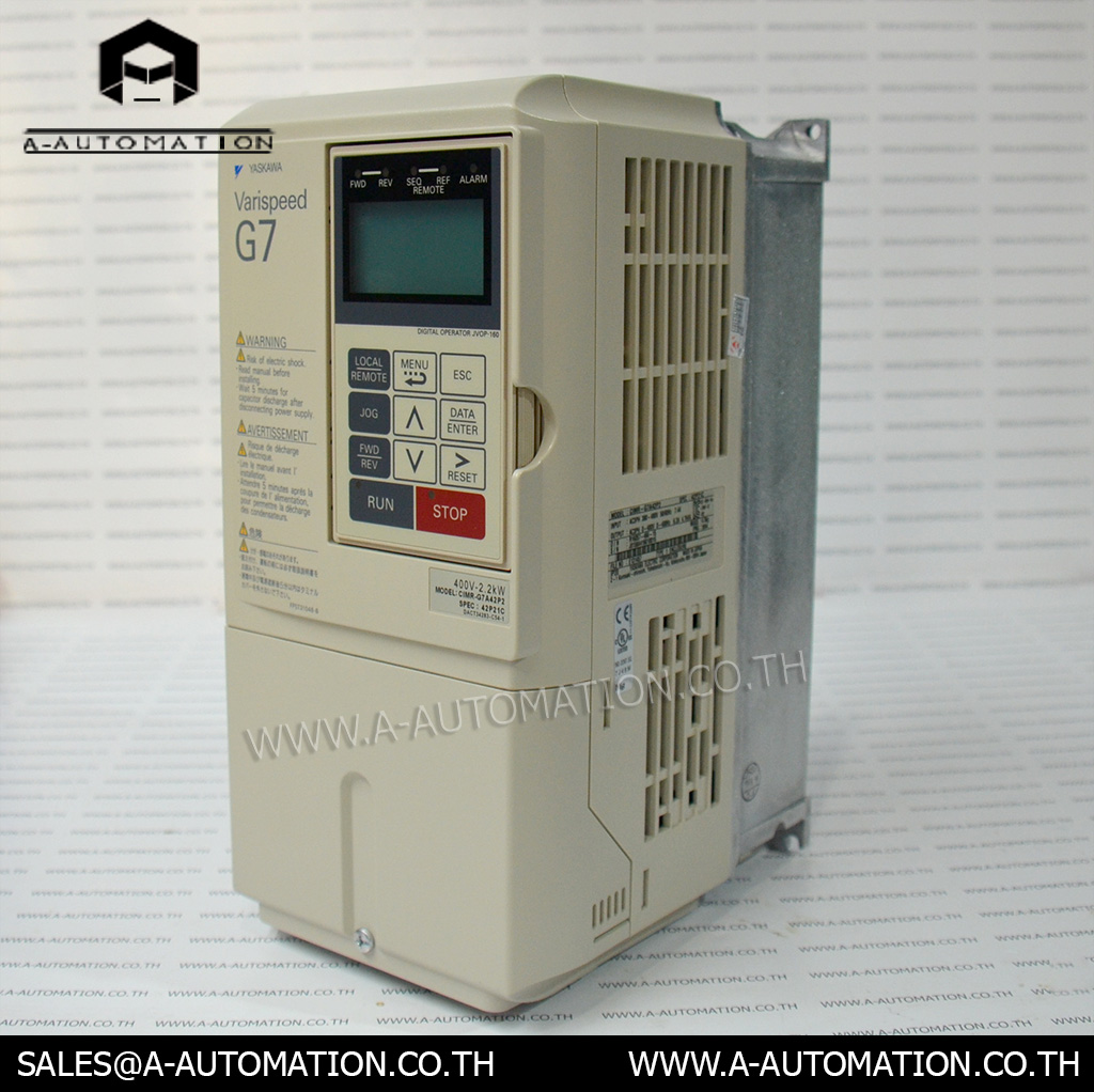 Inverter Yaskawa Model:CIMR-G7A42P2 (สินค้าใหม่)