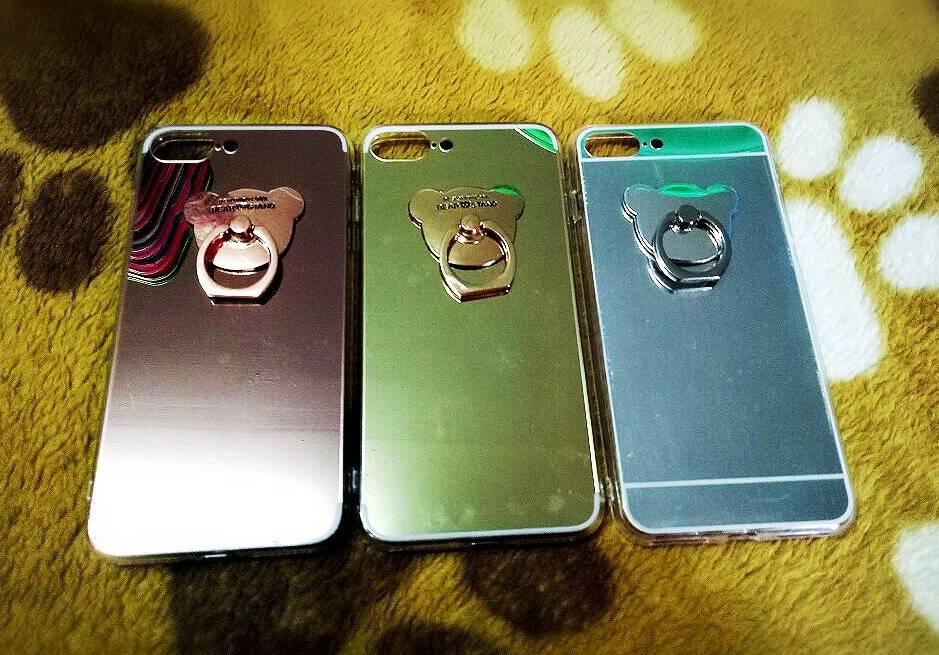 TPU โครเมี่ยมพร้อมแหวน iphone7 plus/iphone8 plus(ใช้เคสตัวเดียวกัน)