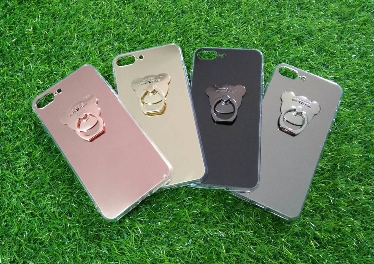 TPU โครเมี่ยมพร้อมแหวน(NEW) iphone7/iphone8(ใช้เคสตัวเดียวกัน)