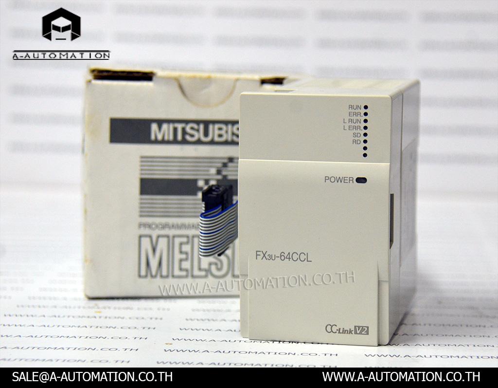 PLC Mitsubishi model:FX3U-64CCL