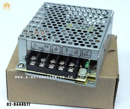 POWER SUPPLY MEAN WELL MODEL:NES-25-5