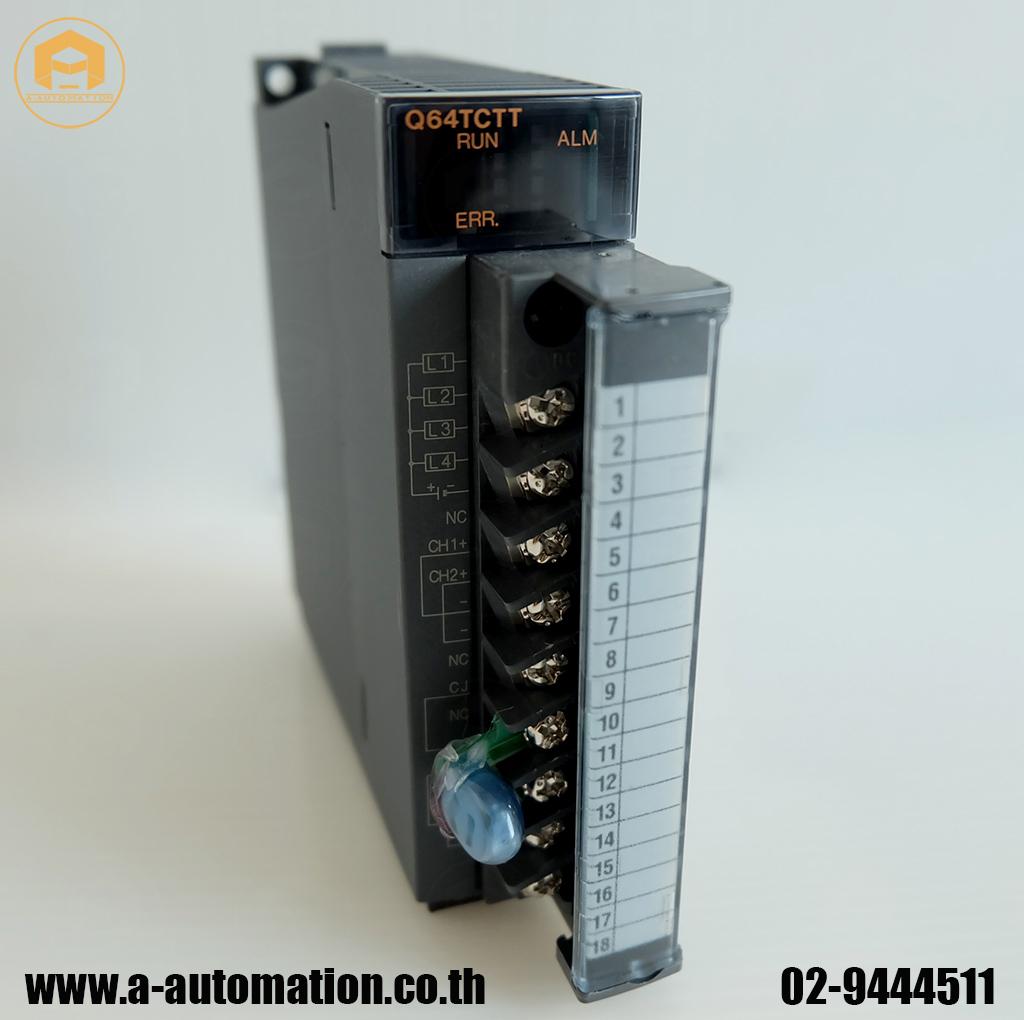 ขาย plc mitsubishi Model:Q64TCTT (สินค้าใหม่)