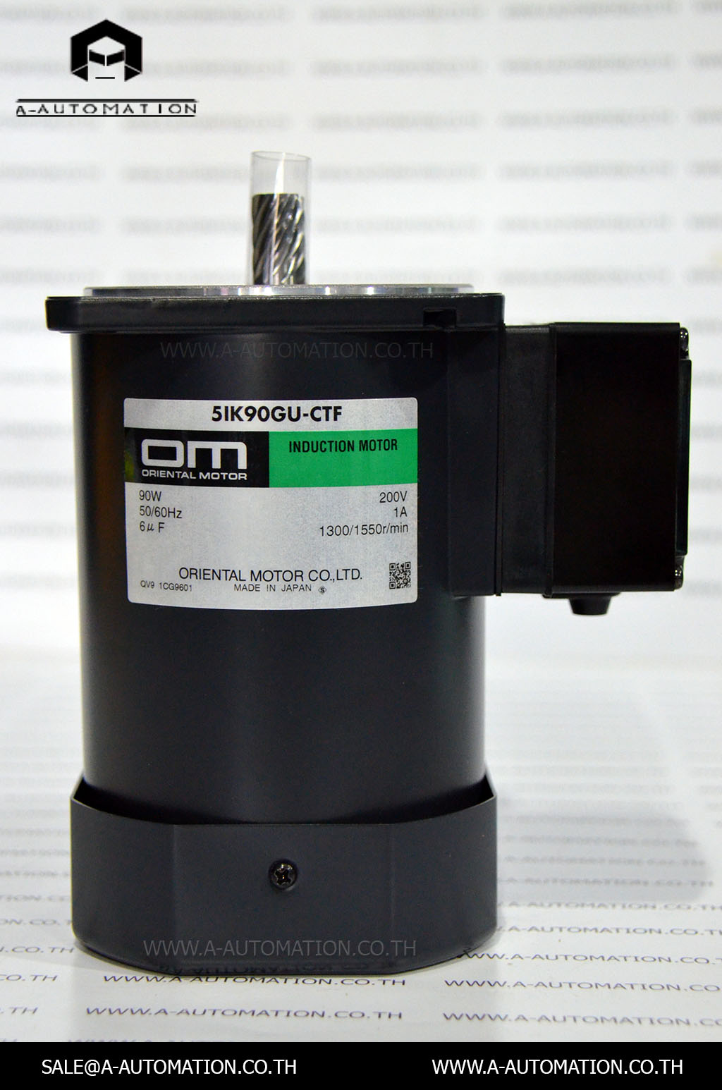 INDUCTION MOTOR MODEL:5IK90GU-CTF [ORIENTAL MOTOR]