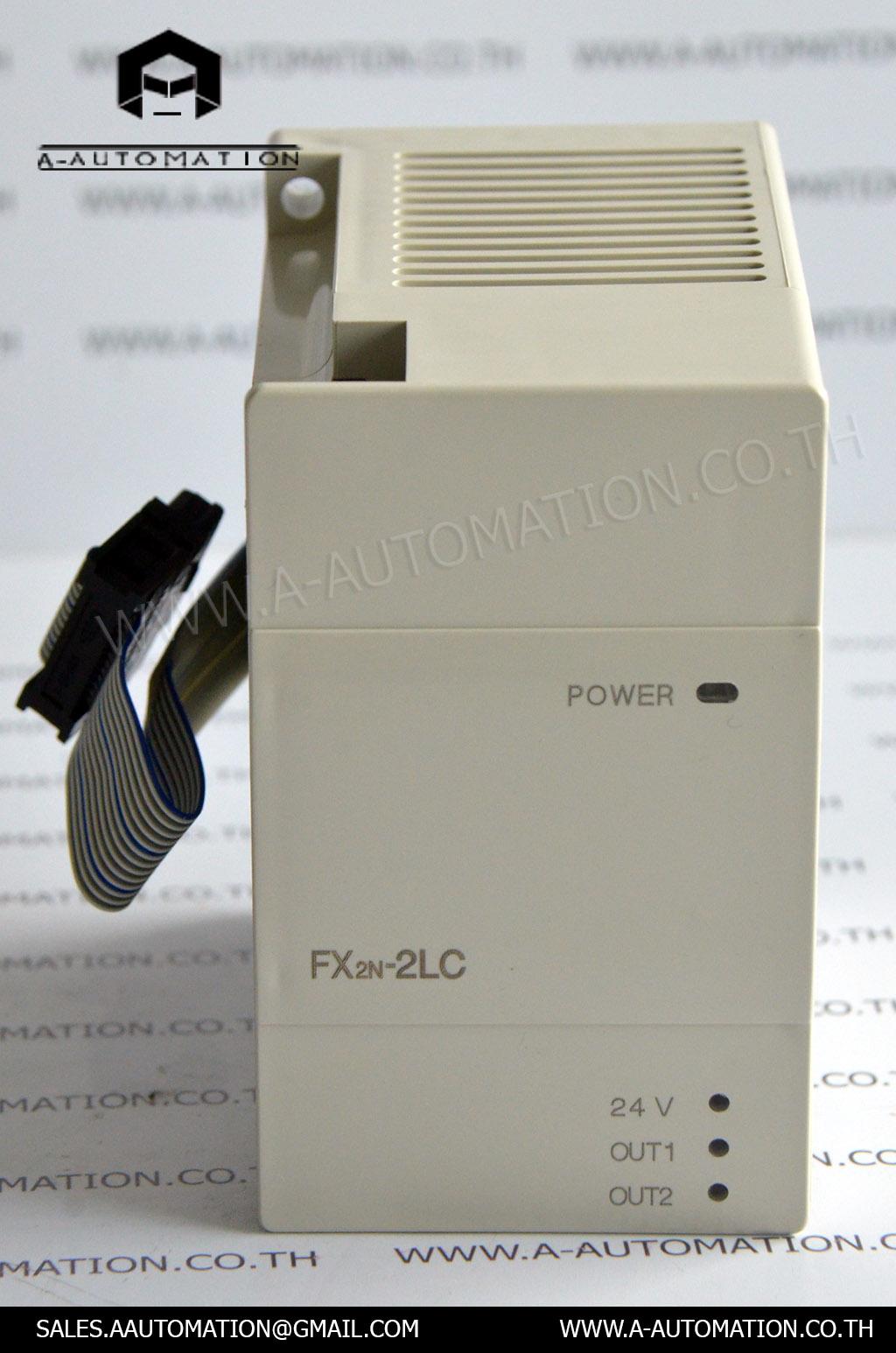 PLC MODEL:FX2N-2LC [MITSUBISHI]