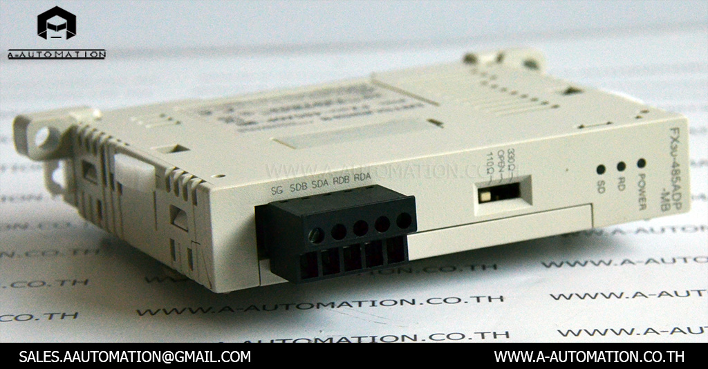 PLC MODEL:FX3U485ADP-MB [MITSUBISHI]