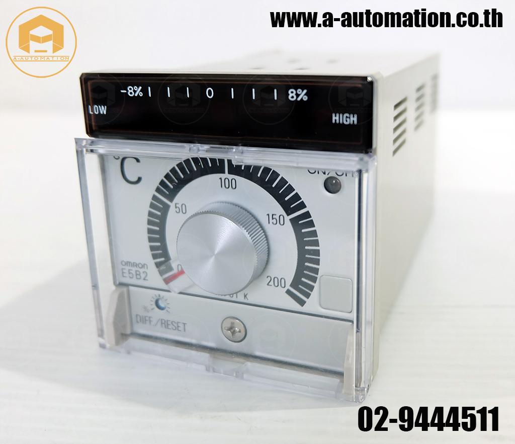 ขายTemperature Omron Model:E5B2-WR10K (สินค้าใหม่)