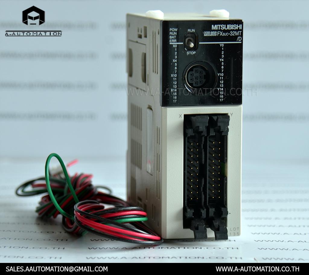 PLC MODEL:FX3UC-32MT/D [MITSUBISHI]
